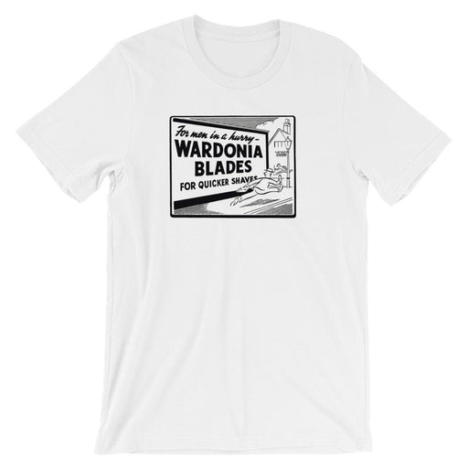 Wardonia Vintage Advert Short-Sleeve Unisex T-Shirt - Phoenix Artisan Accoutrements