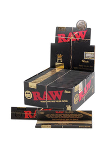 Black Papers King Size Slim Extra Fine