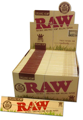 Organic Hemp Papers Kingsize Slim