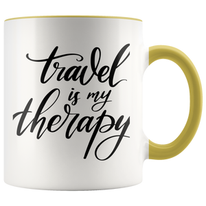 Travel is my Therapy Mug