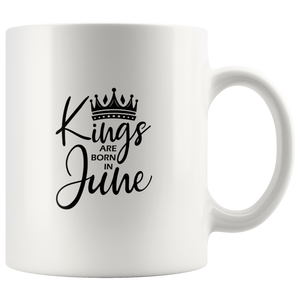 Kings Are Born in June Mug