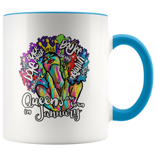 Load image into Gallery viewer, Queens are Born in January Mug