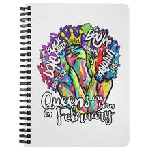 Load image into Gallery viewer, Queens are born in February Journal