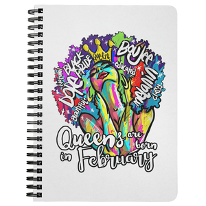 Queens are born in February Journal