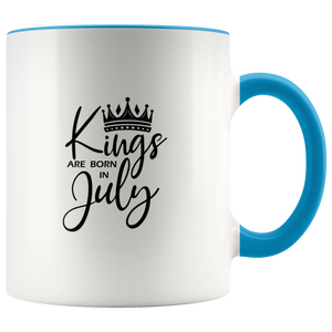 Kings Are Born in July Mug