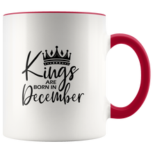 Load image into Gallery viewer, Kings Are Born in December Mug