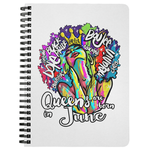 Queens are born in June Journal