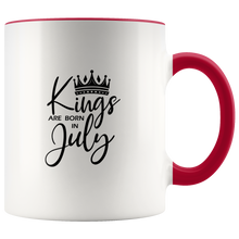 Load image into Gallery viewer, Kings Are Born in July Mug