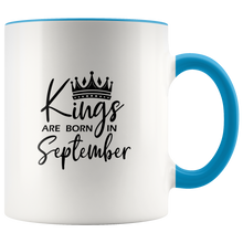 Load image into Gallery viewer, Kings Are Born in September Mug
