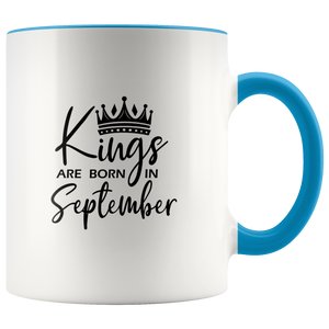 Kings Are Born in September Mug