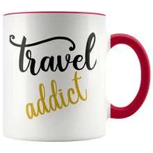 Load image into Gallery viewer, Travel Addict Mug