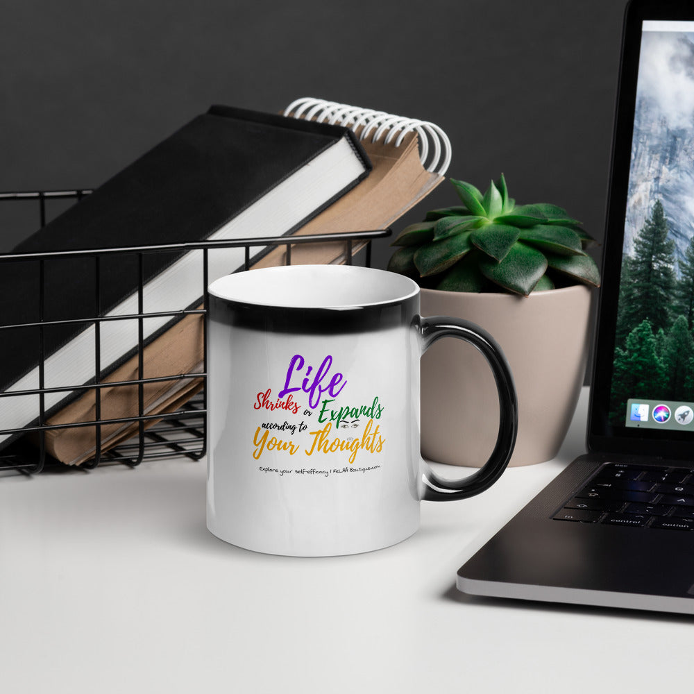 FeLAÁ Glossy Magic Mug | Life