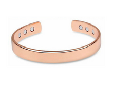 Load image into Gallery viewer, Pure Copper Magnetic Therapy Bracelet