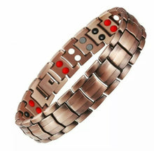 Load image into Gallery viewer, Ultimate Copper Magnetic Therapy Bracelet