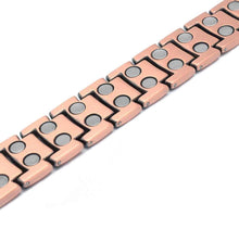 Load image into Gallery viewer, Powerful Magnetic Therapy Copper Bracelet