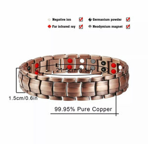 Rare & Powerful Copper Magnetic Therapy Bracelet