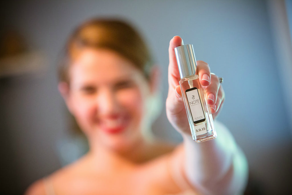 Wedding Day Perfume: Something Completely Special