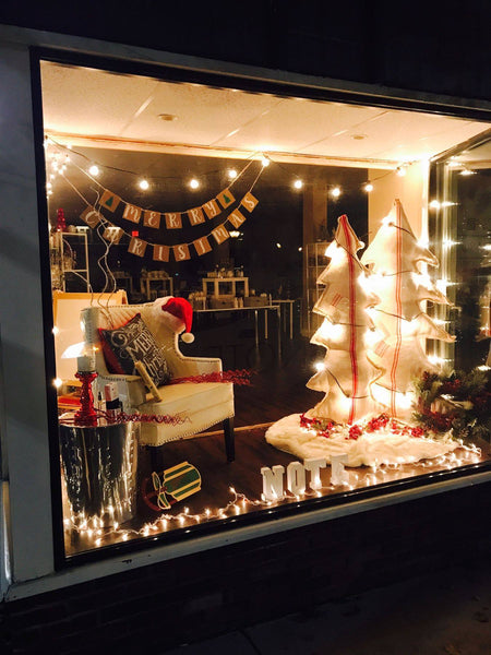 NOTE Fragrances in Clarks Summit Holiday Window