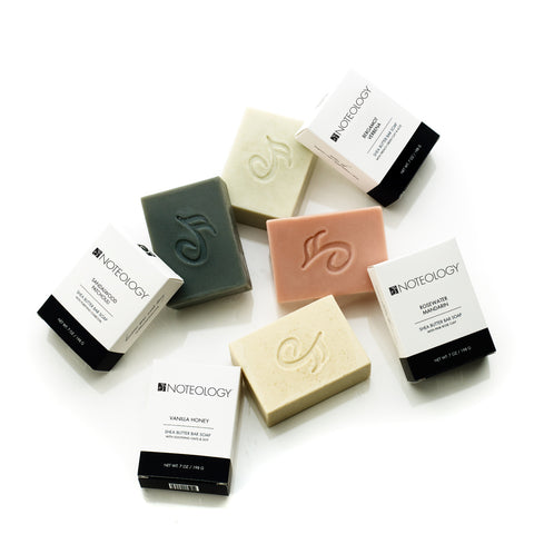 Shea Butter Bar Soaps by Noteology