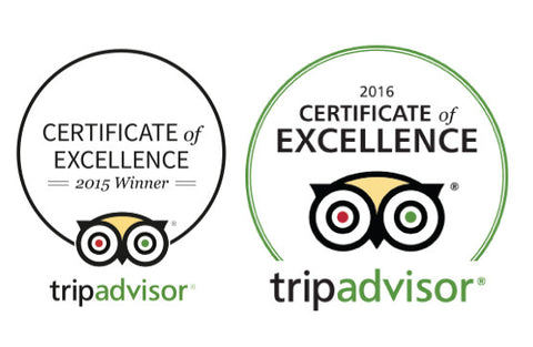 Certificate Of Excellence | Trip Advisor
