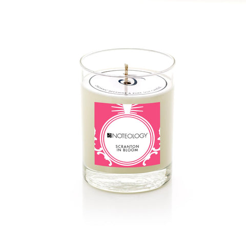 Scranton In Bloom Candle
