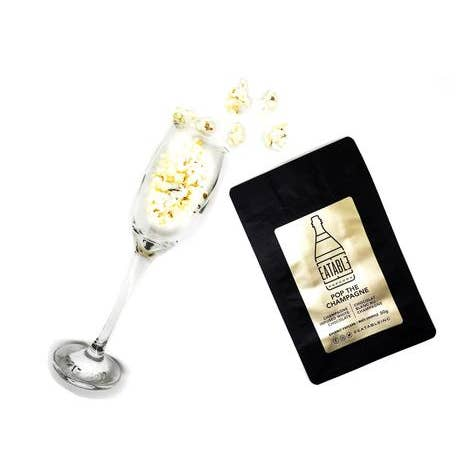Pop the Champagne Alcohol Infused Gourmet Popcorn