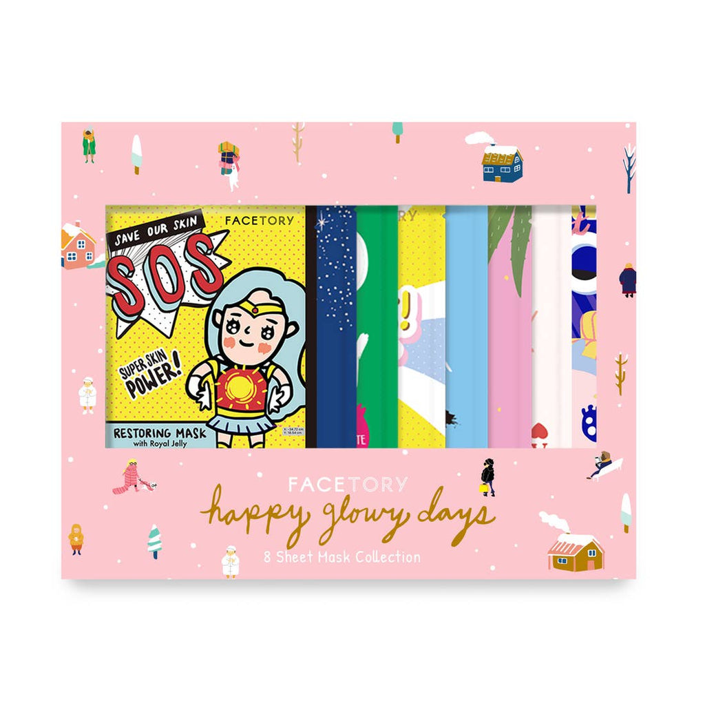 Happy Glowy Days Original Collection Holiday Gift Set