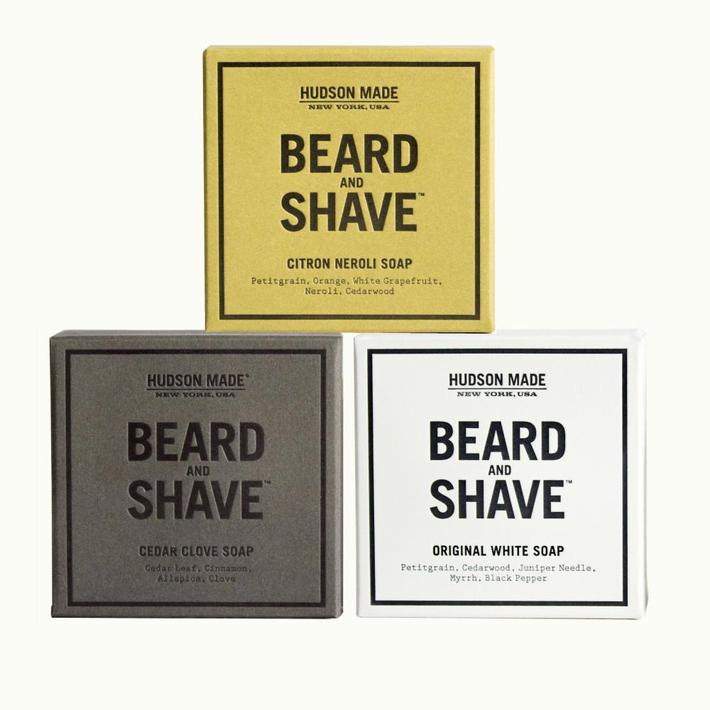Beard and Shave Soap Trio
