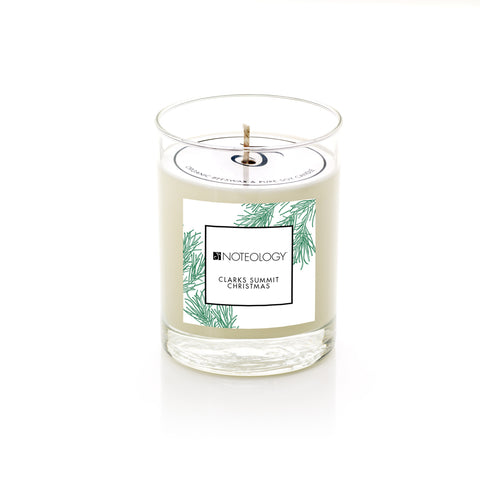 Clarks Summit Christmas Soy Candle | Noteology
