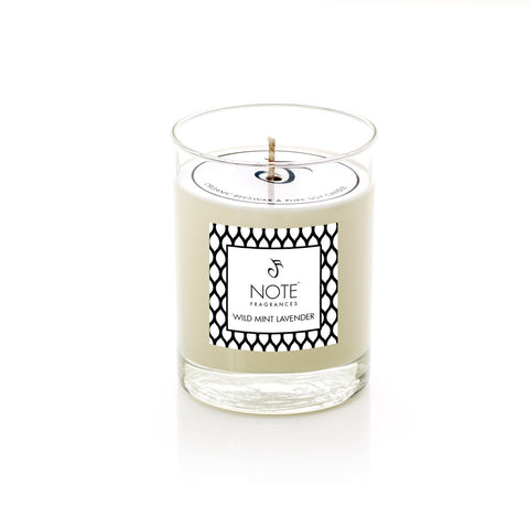 Wild Mint Lavender Candle | NOTE Fragrances