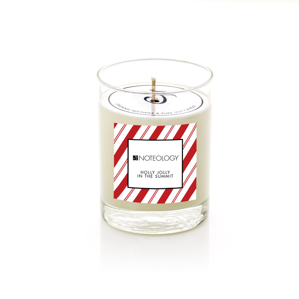 Holly Jolly in the Summit Soy Candle | Noteology