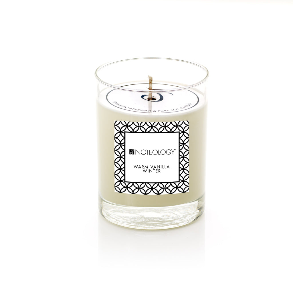 Warm Vanilla Winter Candle | Noteology