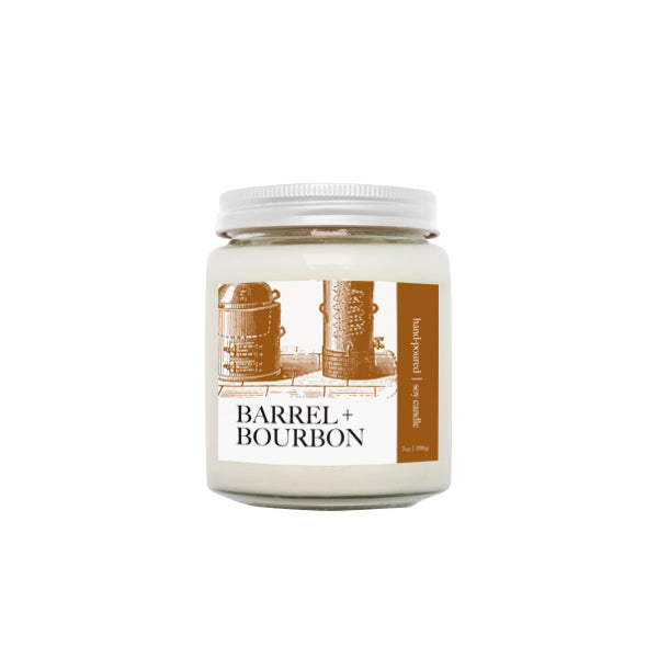 Barrel + Bourbon Candle | NOTE Fragrances