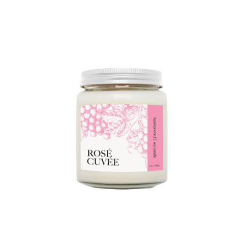 Rosé Cuvée Wine Candle | NOTE Fragrances