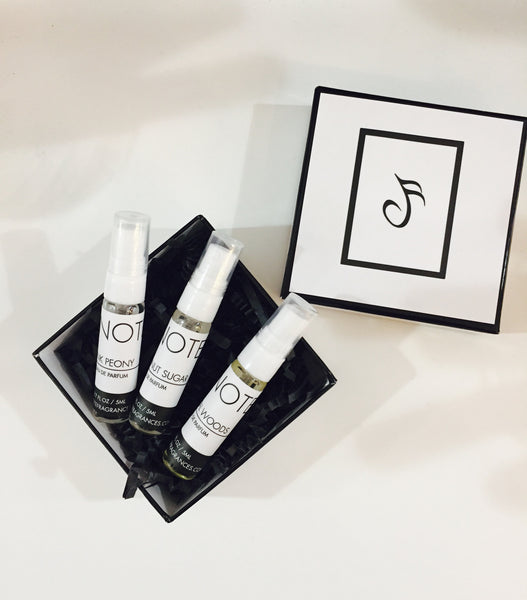 Mini Fragrance Trio | NOTE Fragrances