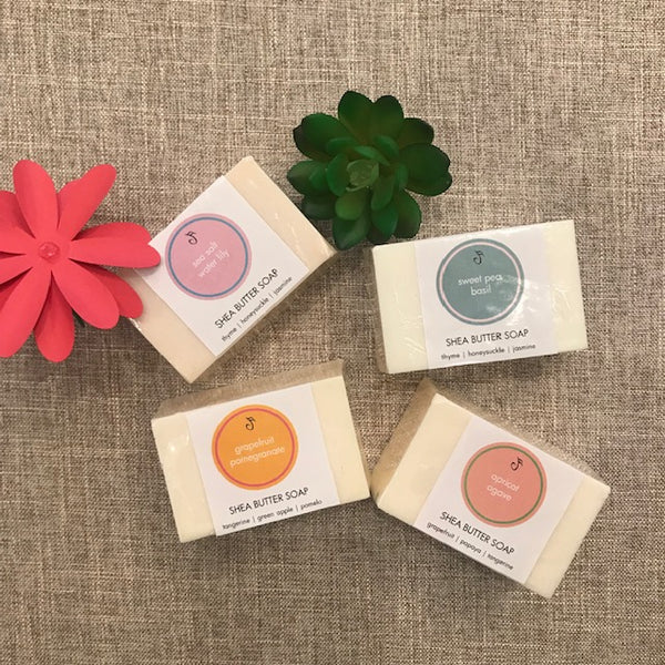 Limited Edition Spring Shea Butter Bar Soaps