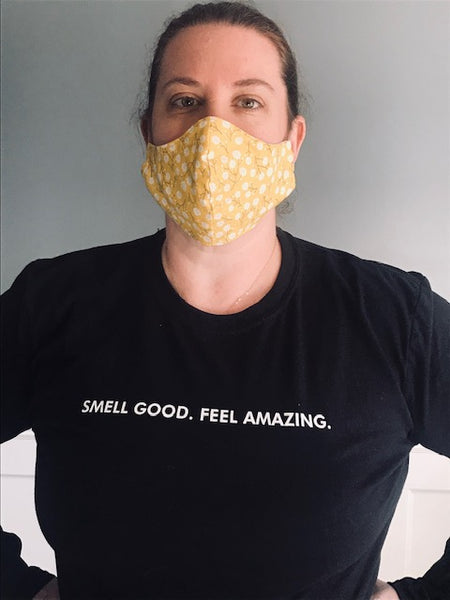 Adult Women's Cotton Fabric Face Mask