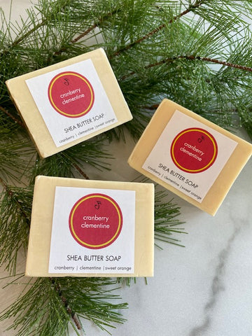 Cranberry Clementine Bar Soap | Noteology