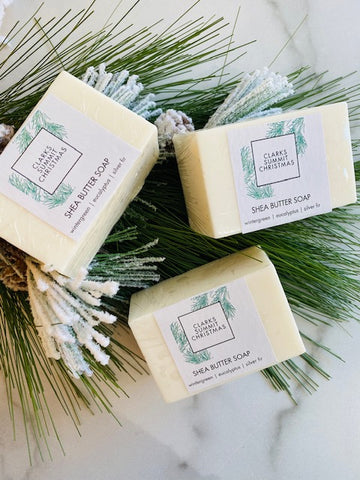 Clarks Summit Christmas Shea Butter Bar Soap | Noteology