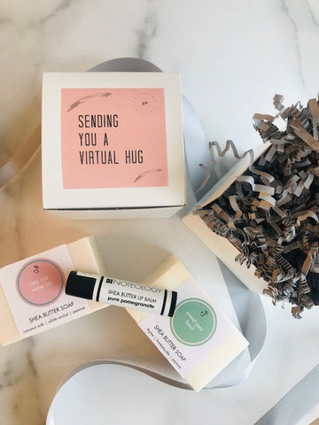 Sending you a Virtual Hug Deluxe Gift Set