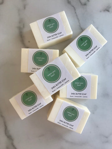 Spring & Summer Shea Butter Bar Soaps