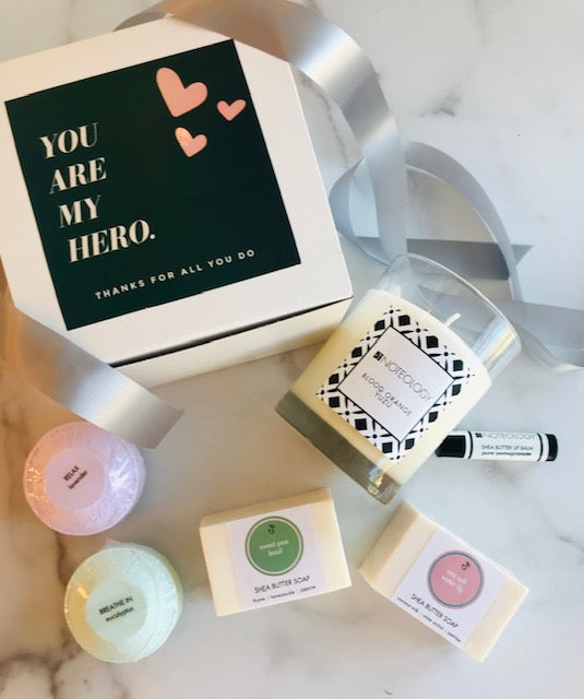 You are my Hero Gift Set by Noteology