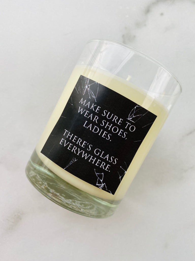 Kamala Harris Motivational Candle by Noteology