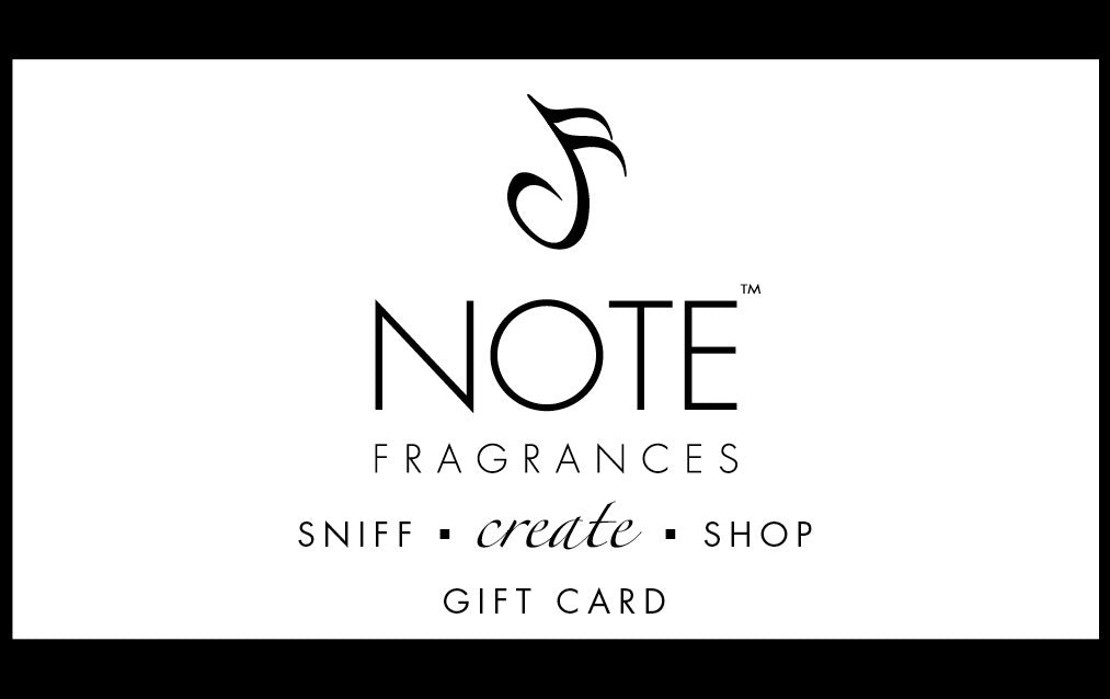 Gift Certificate for the Scranton Location | NOTE Fragrances