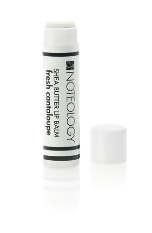 Fresh Cantaloupe Shea Butter Lip Balm | Noteology