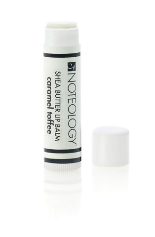 Caramel Toffee Shea Butter Lip Balm | Noteology