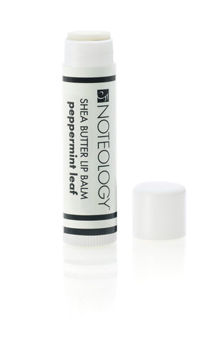 Peppermint Leaf Shea Butter Lip Balm | Noteology