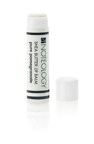 Pure Pomegranate Shea Butter Lip Balm | Noteology