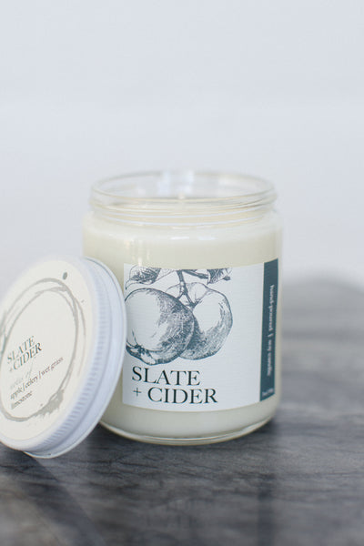 Slate + Cider Candle | NOTE Fragrances