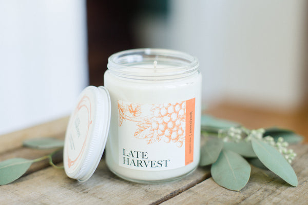 Late Harvest Wine Candle | NOTE Fragrances